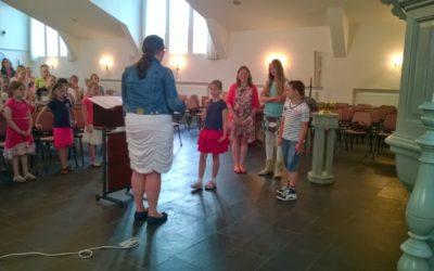 12 juni 2014: Solisten tijdens repetitie