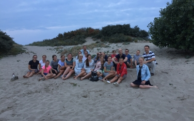 26 augustus 2017: Strandwandeling 'Jong Belegen'