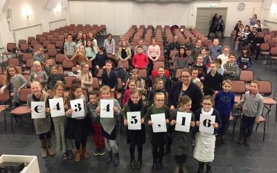 23 januari 2018: Jubileum Ton en Linda / overhandiging opbrengst Timotheos