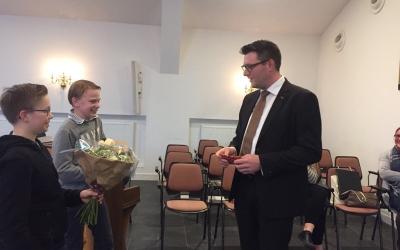 3 april 2018: afscheid voorzitter H. Donkersteeg